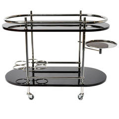 Art Deco Style Bar Cart