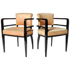 Pair of Round-Backed Chairs