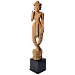 Hand-Carved Sculpture