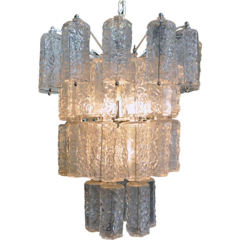 murano glass chandelier at 1stdibs