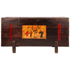 19th Century Painted Chinese Chest