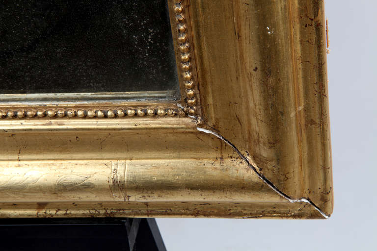 Louis Philippe Style Giltwood Mirror For Sale 1