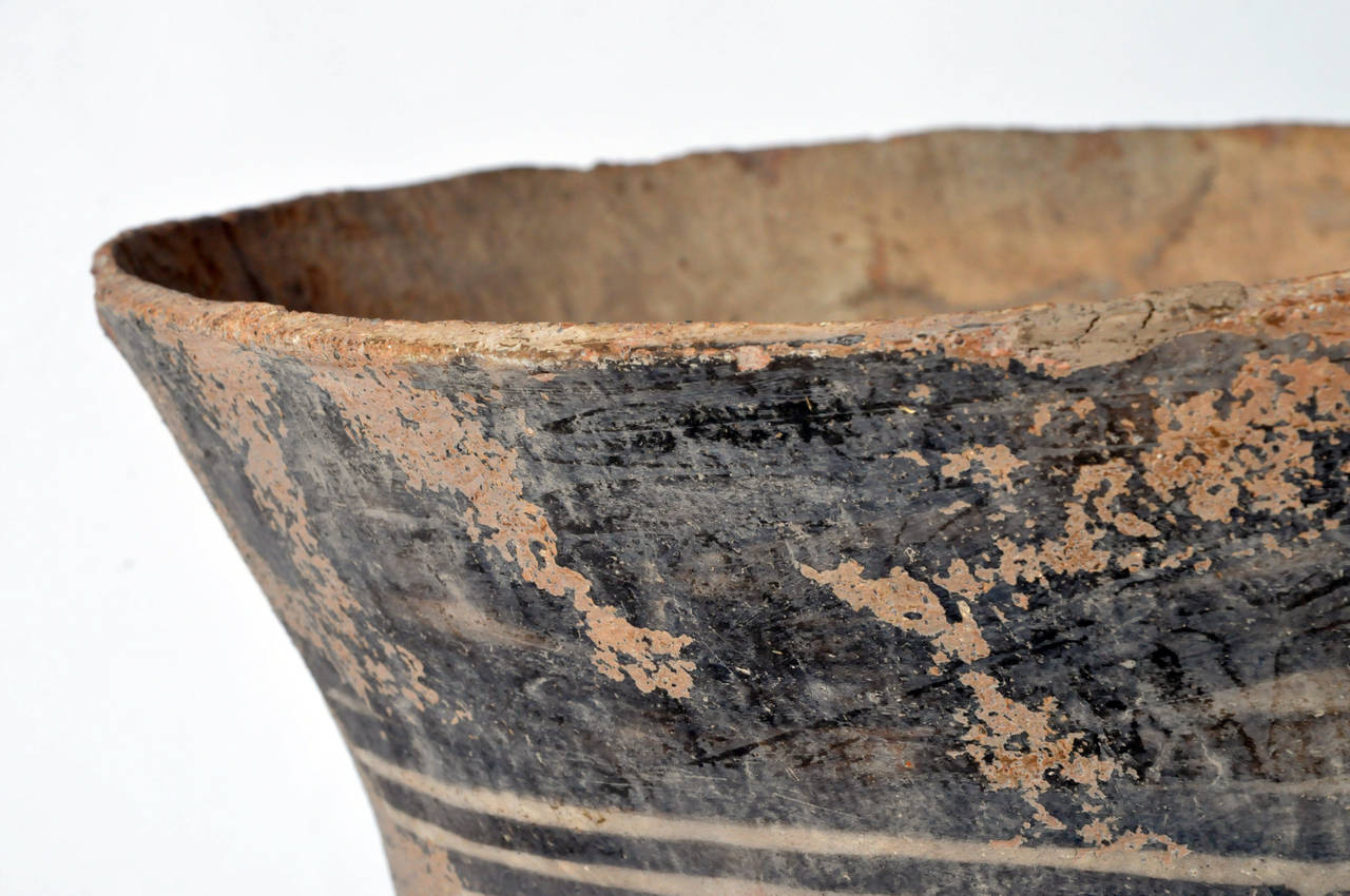 18th Century and Earlier Massive Neolithic Vessel For Sale