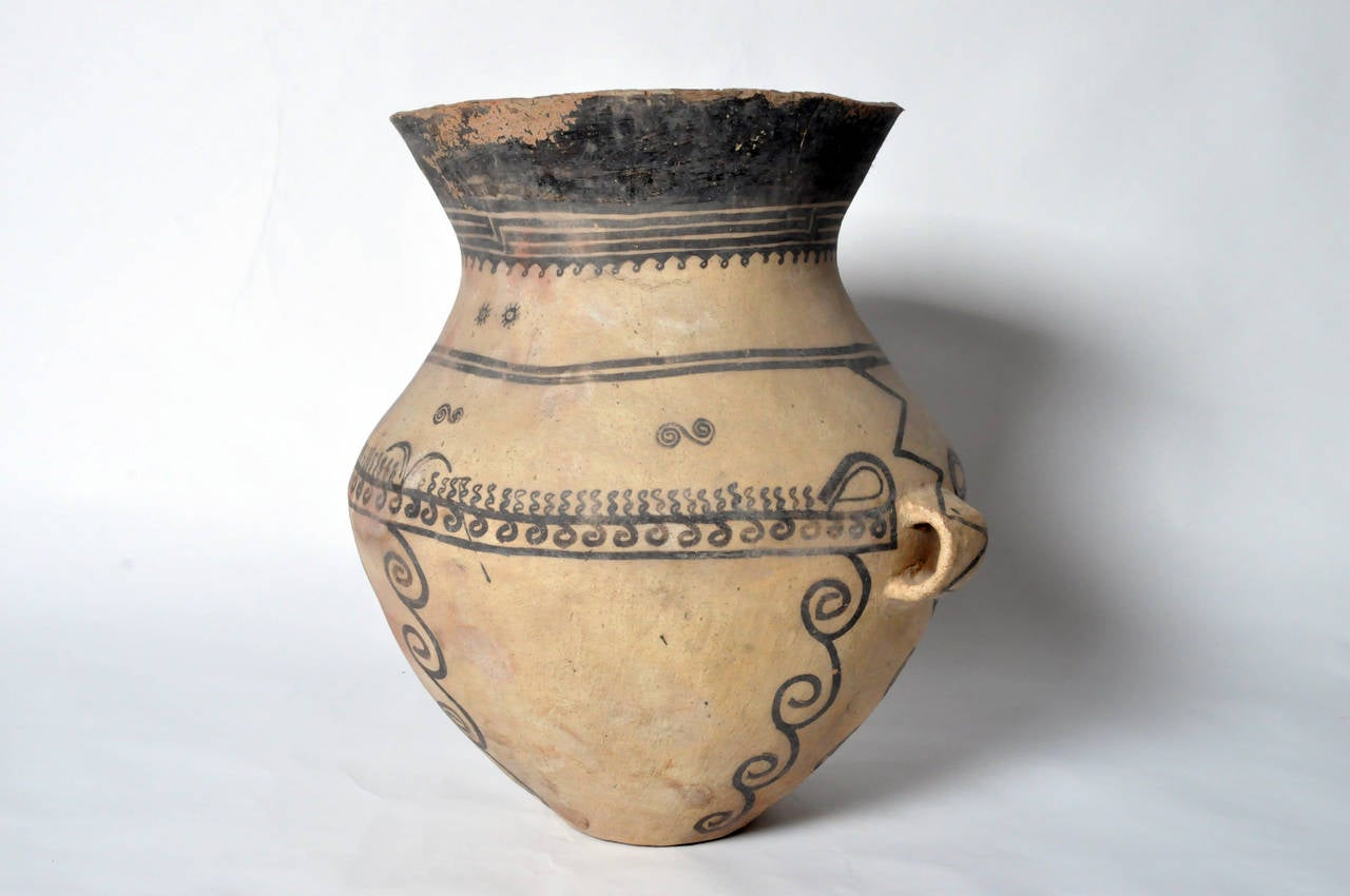 Chinese Massive Neolithic Vessel For Sale