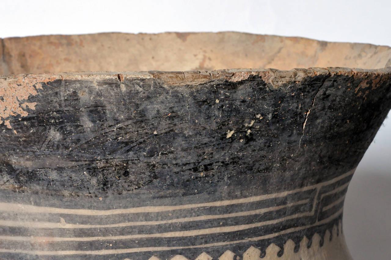 Earthenware Massive Neolithic Vessel For Sale