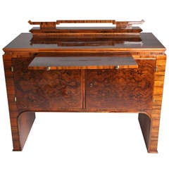 Hungarian Console/Bar with Pullout Shelf
