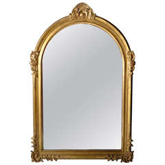 Monumental Louis XV Style Mirror