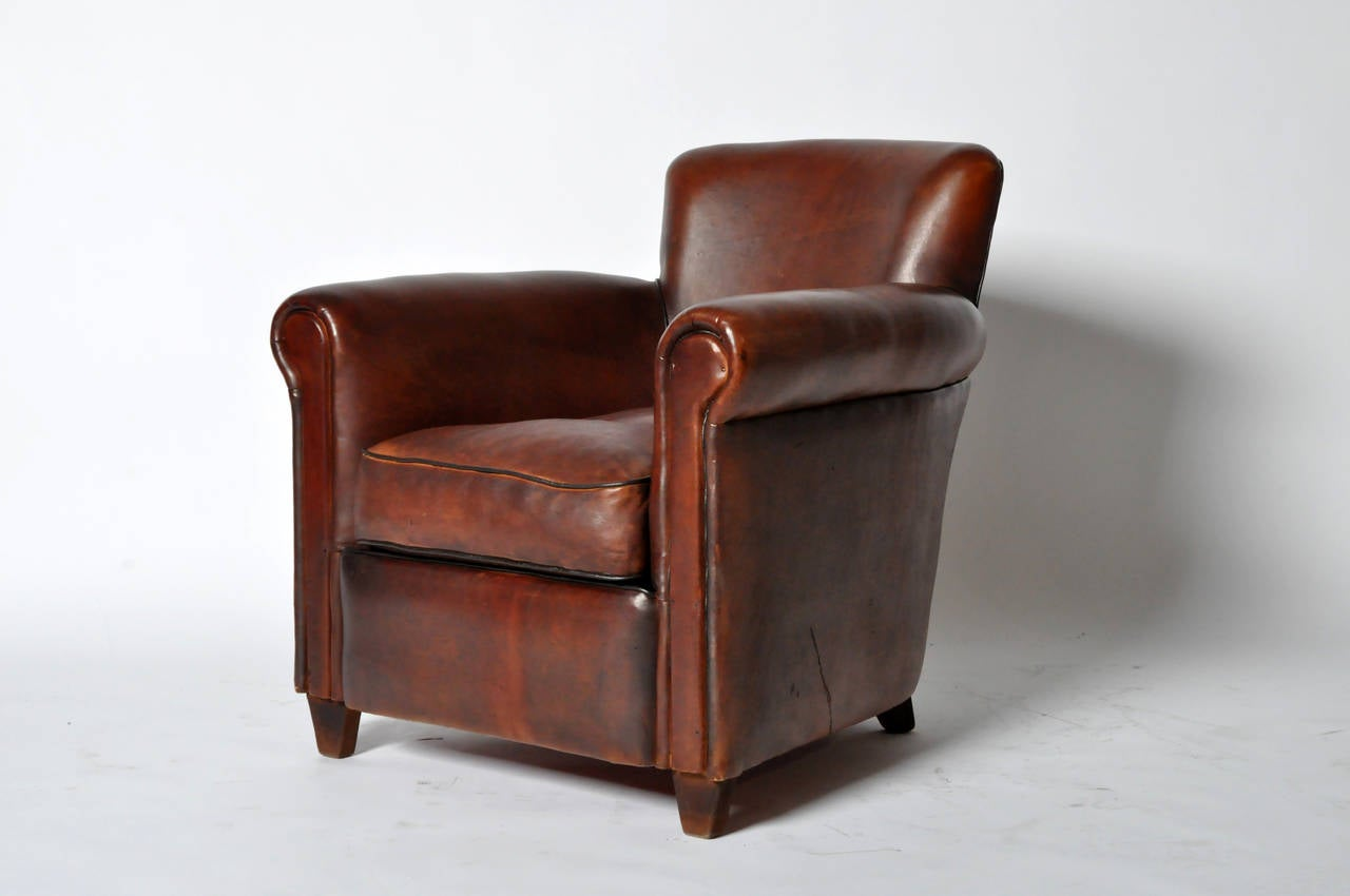 Pair Of Petite Club Chairs At 1stdibs