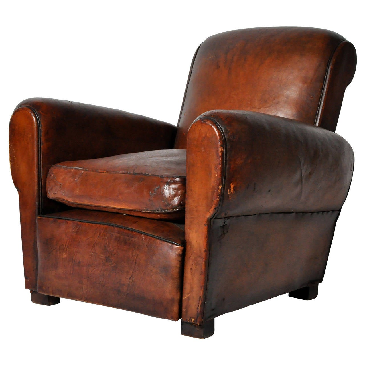 vintage leather club chairs vintage leather club chair at 1stdibs 6840