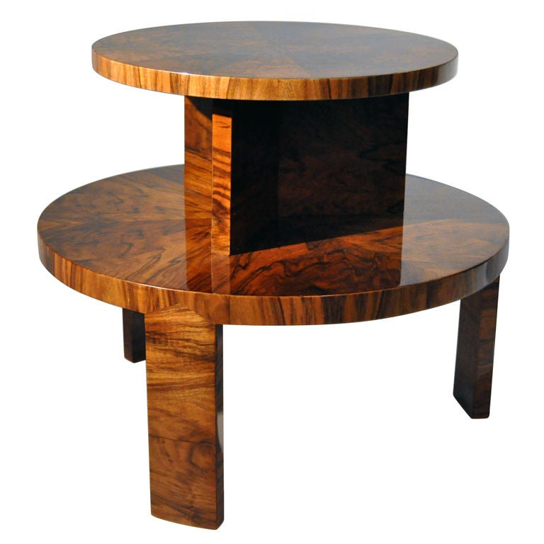 Two level coffee table by lajos kozma for 3 level coffee table