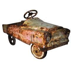 """Vintage """"Roadster"""" Pedal Car"""