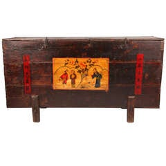 A Painted Chinese Chest