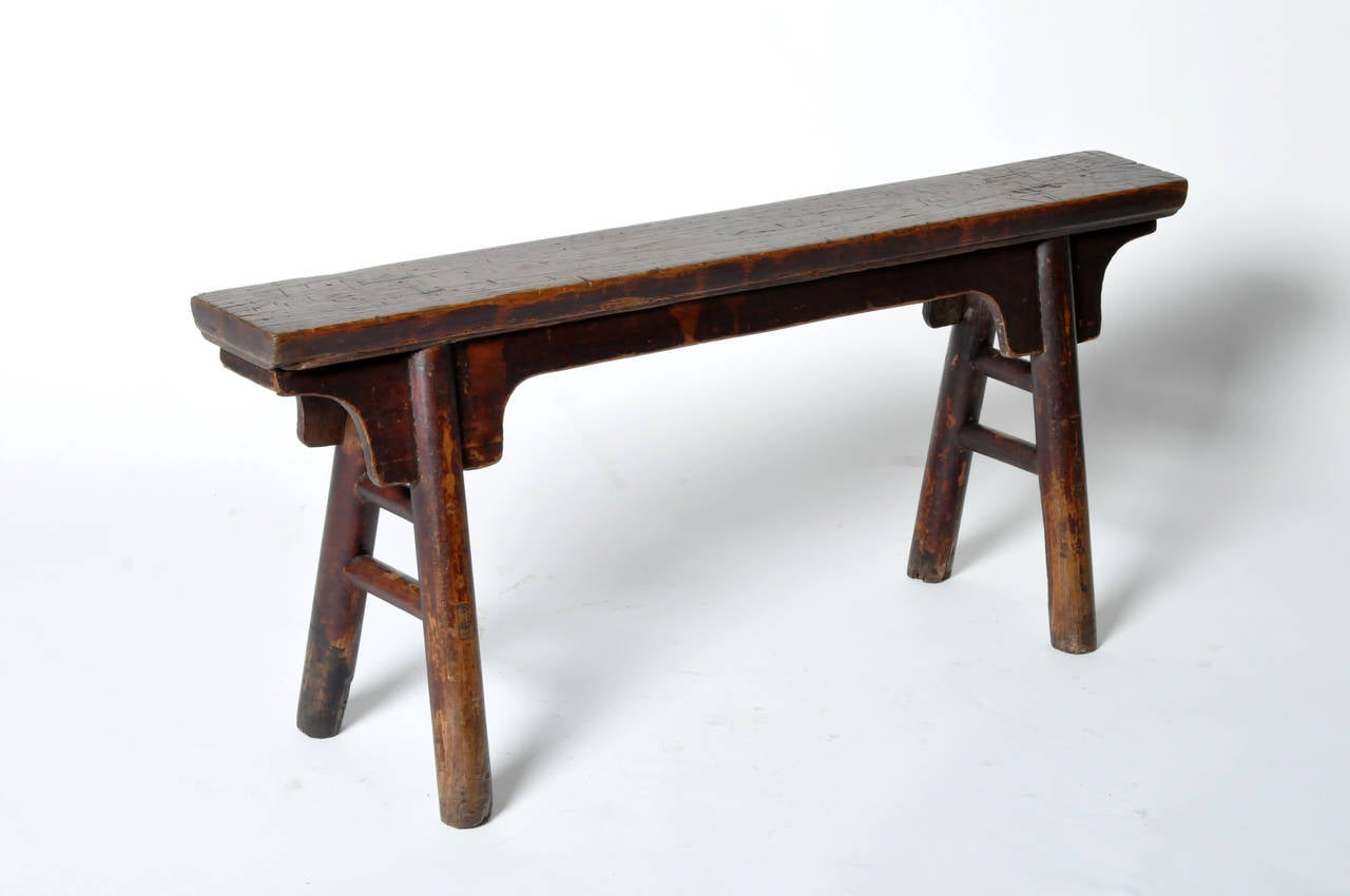 Chinese Narrow Bench At 1stdibs