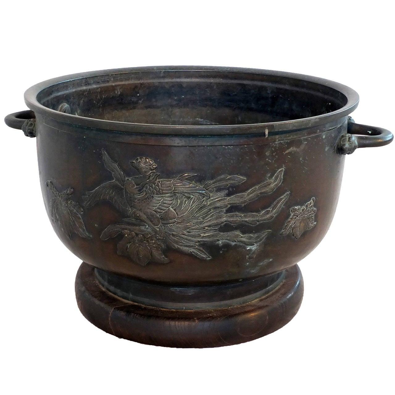 Japanese Bronze Hibachi