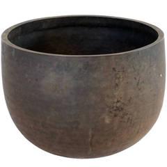 Japanese Bronze Singing Bowl