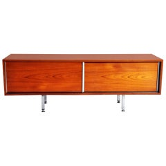 Mid-Century Modern Low-Lying Sideboards by George Frydman
