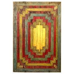 Burmese Temple Panel