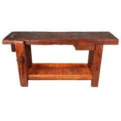 Work Bench with Bottom Shelf