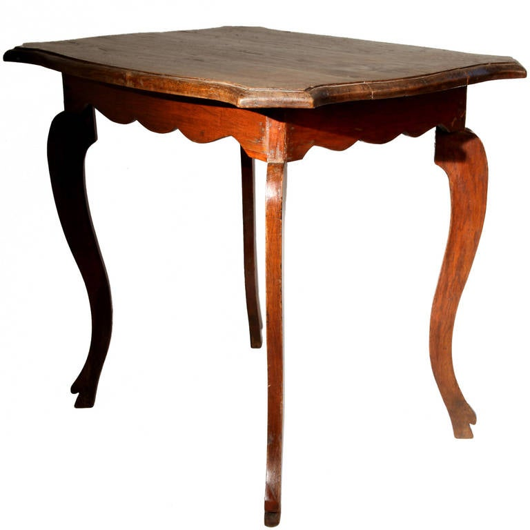 british colonial side table with curved legs at 1stdibs