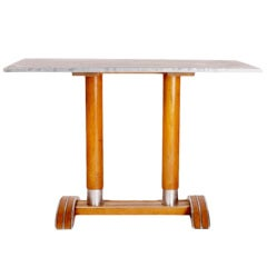 French Bistro Table with Zinc Top