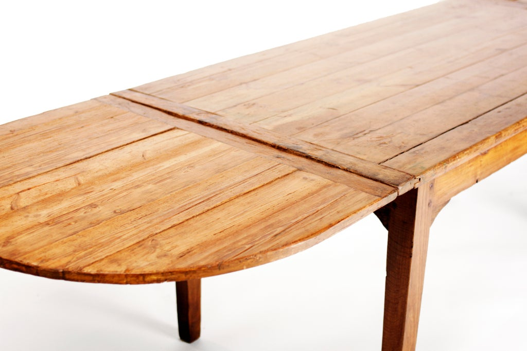 French Country Dining Table With End Extensions At 1stdibs