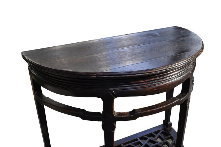 Half round side table at 1stdibs for 12 inch round side table