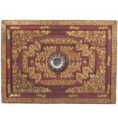 Lanna Thai Temple Ceiling Panel