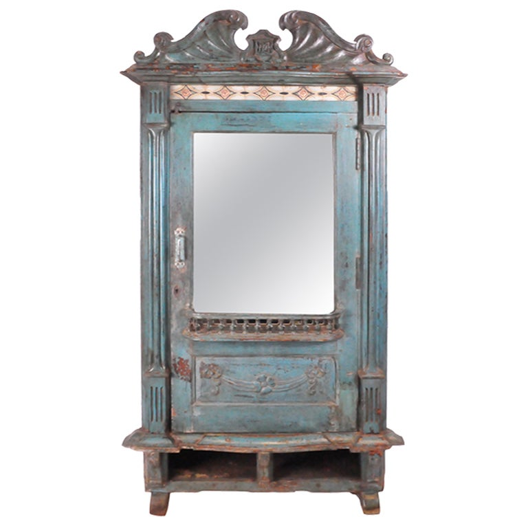 british colonial chechen wood armoire at 1stdibs. Black Bedroom Furniture Sets. Home Design Ideas