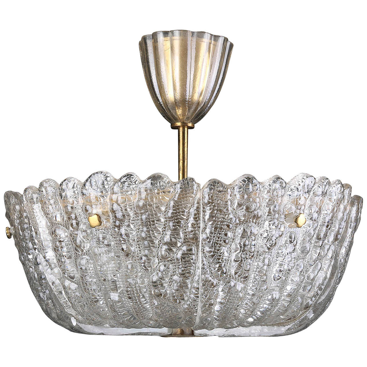 Orrefors Crystal Chandelier by Carl Fagerlund