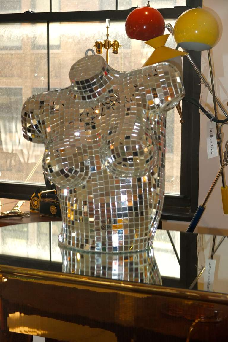 Disco Mirror Bust 8