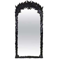 Large Palm Foliate Mirror by Sirmos