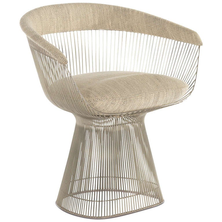 this warren platner nickel side chair is no longer available