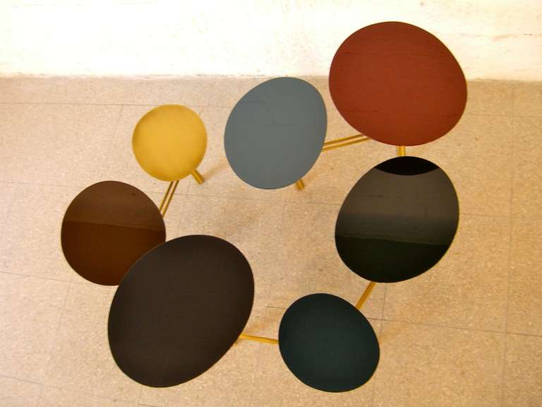 tapis d 39 orient pebble table by nada debs for sale at 1stdibs. Black Bedroom Furniture Sets. Home Design Ideas