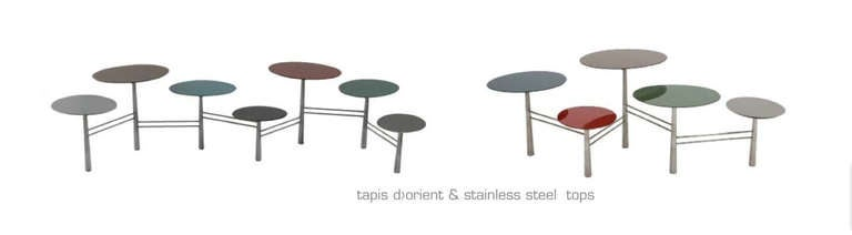 Tapis Du0027Orient Pebble Table By Nada Debs For Sale 3
