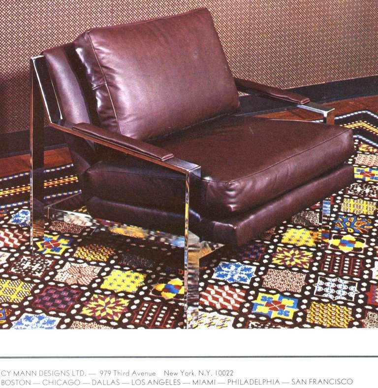 Cy Mann Chrome Lounge Chair 5