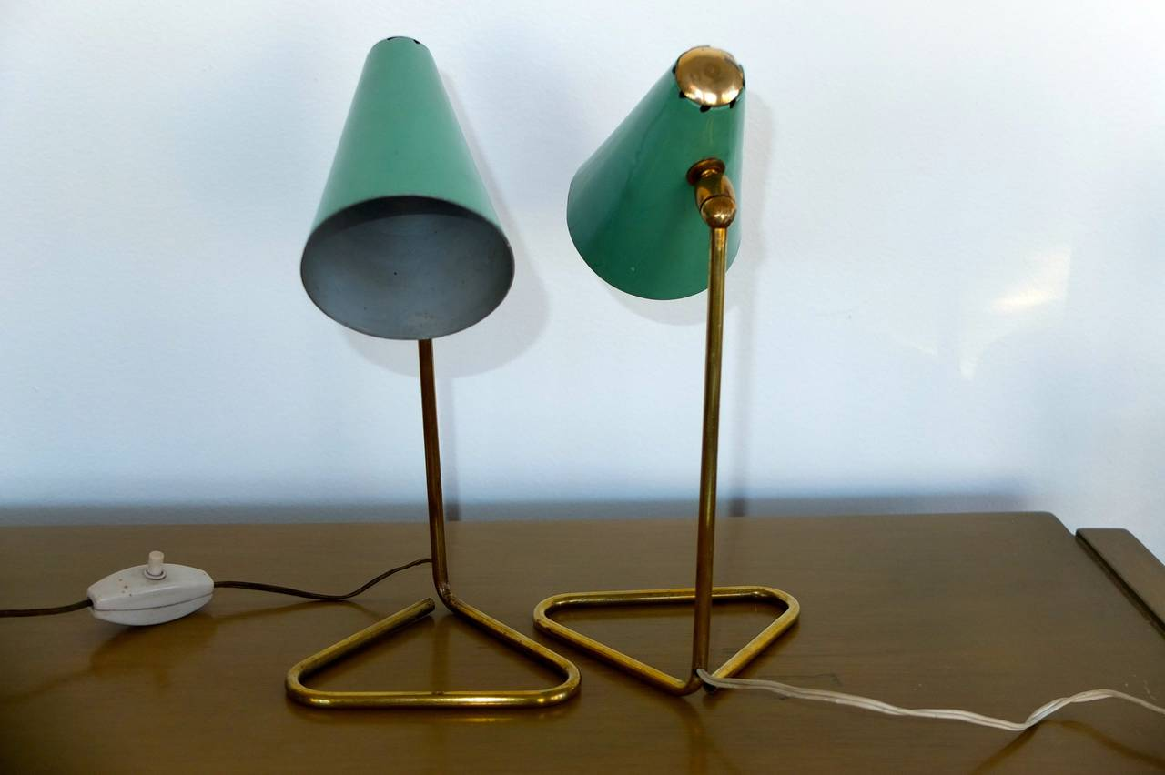 Wall Mounted Table Lamps : Pair of Table or Wall-Mounted Italian Lamps by Stilux Milano at 1stdibs