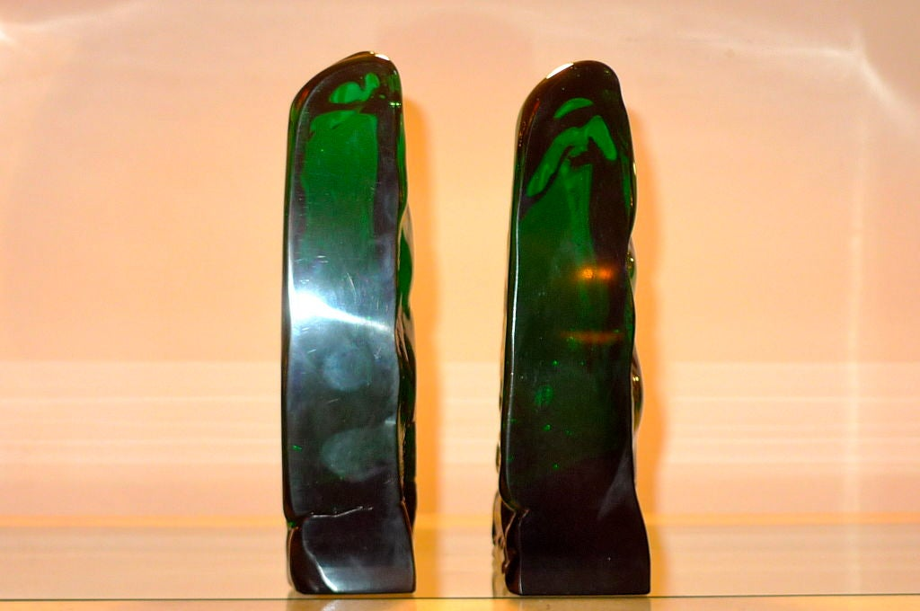 Pair of Bookends by Archimede Seguso For Sale 3