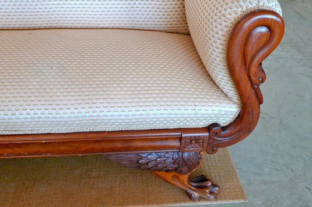 American Empire Settee 6