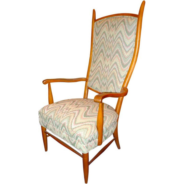 Chieftain Chair By Maxwell Royal For Sale