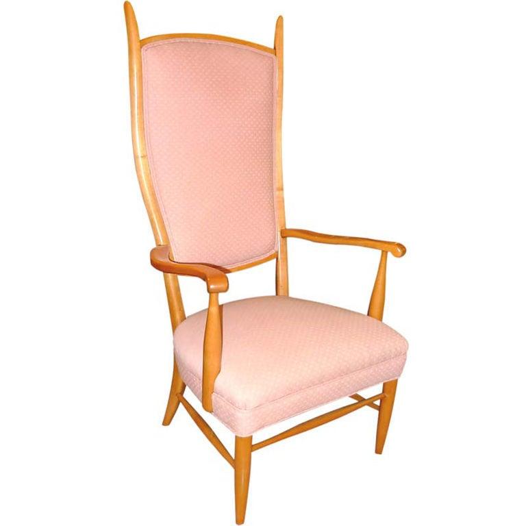 American High Back Arm Chair by Maxwell Royal