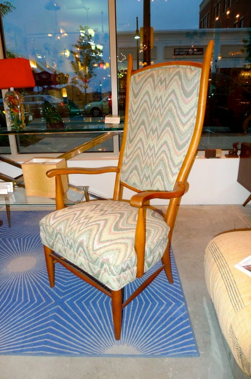 Mid Century Modern Chieftain Chair By Maxwell Royal For Sale