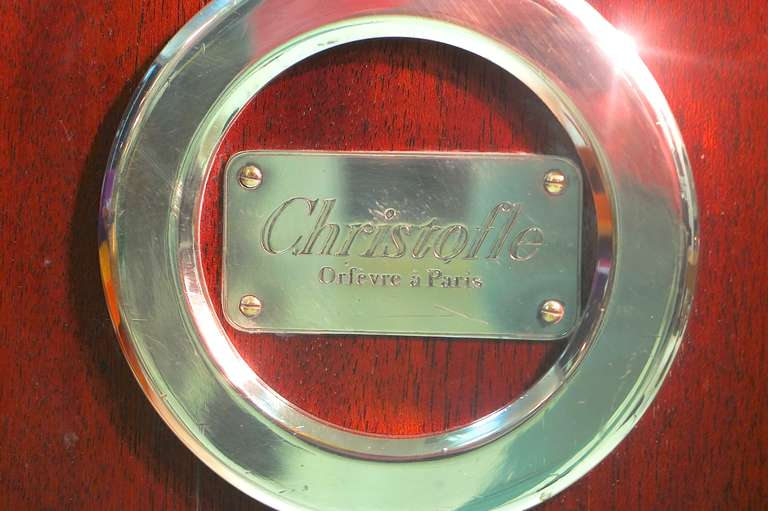 Christofle Silver Plate Dessert Trolley 4
