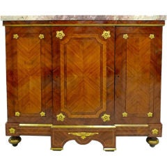 paul frankl mahogany sideboard with cork top for sale at 1stdibs. Black Bedroom Furniture Sets. Home Design Ideas