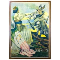 Italian WWI War Bond Poster by G. Capranesi (1852 - 1925)