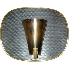 1950's French Modernist Sconce