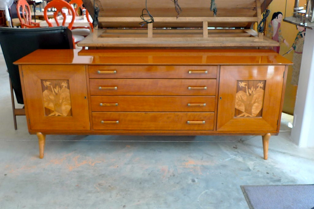 Walnut Sideboard by Renzo Rutili for Johnson Furniture For Sale 2