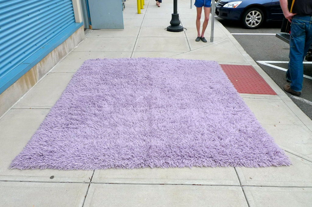 Purple Shag Rug 8' x 10' 3