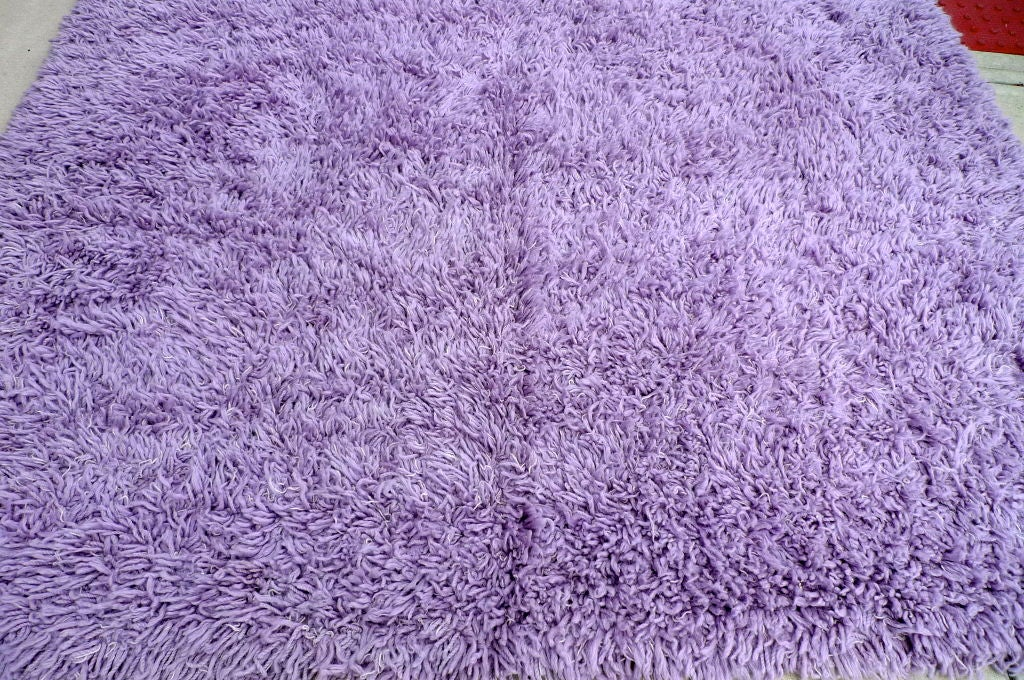 Purple Shag Rug 8 X 10 At 1stdibs
