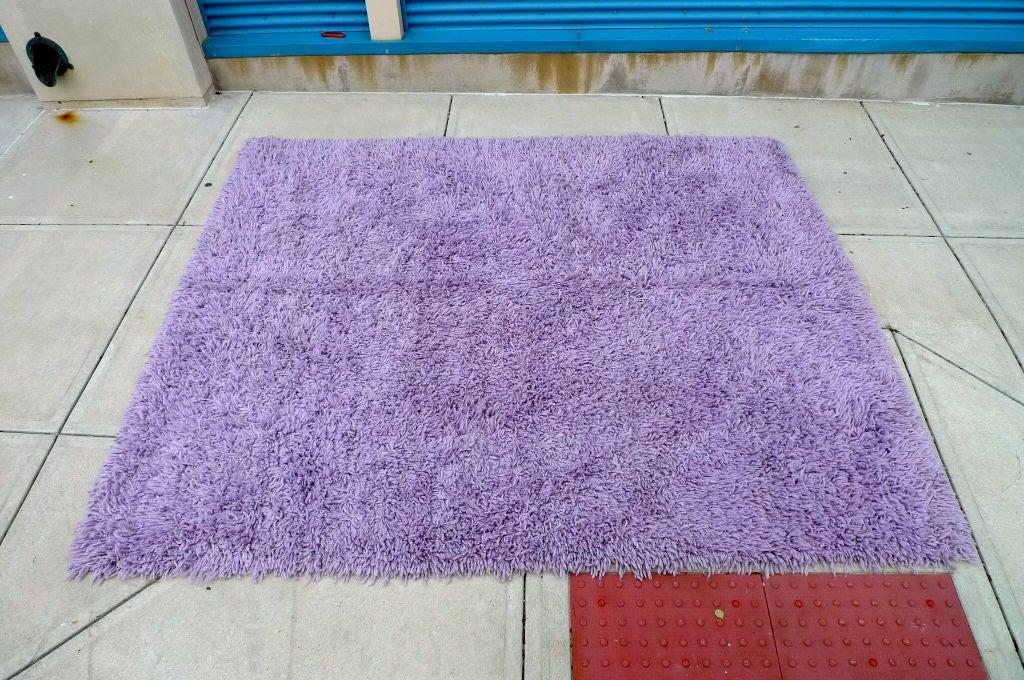 Purple Shag Rug 8' x 10' 5