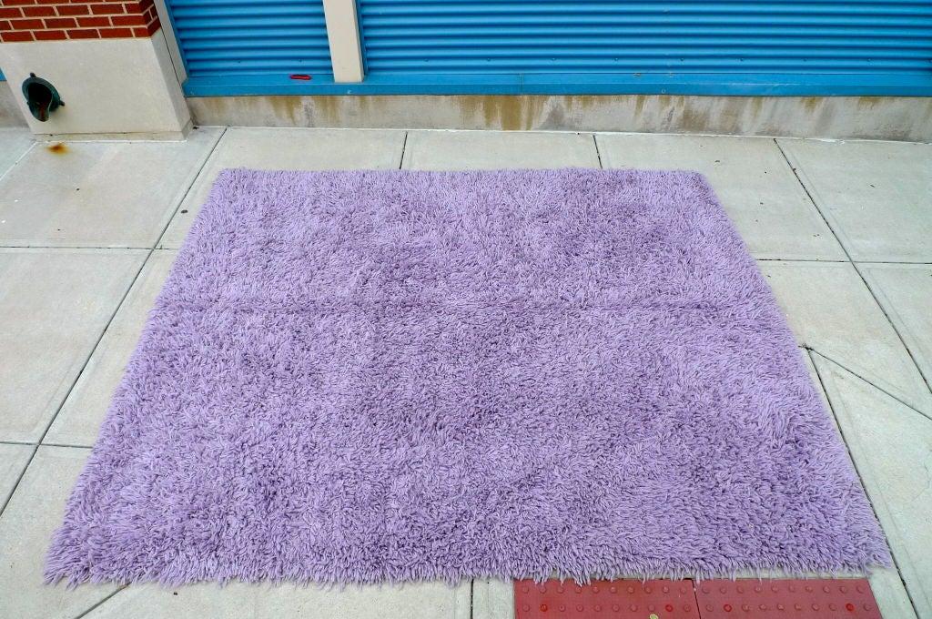 Purple Shag Rug 8' x 10' 6